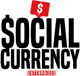 social currency enterprise black logo