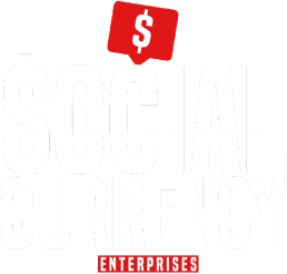 social currency enterprise white logo